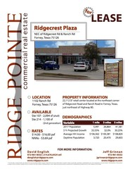 Retail Space for Lease in Texas - Digsy