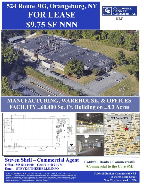NY-303, Orangeburg, NY (LA314892) - Industrial/Warehouse Space